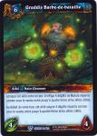 warcraft tcg crown of the heavens foreign graddis battlebeard french