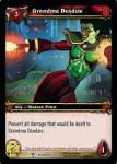 warcraft tcg march of legion grandma deadsie