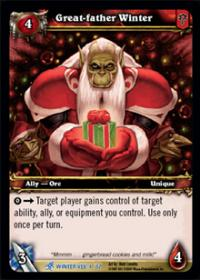 warcraft tcg feast of winter veil great father winter