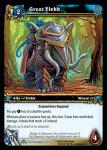 warcraft tcg scourgewar great elekk