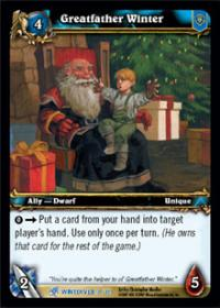 warcraft tcg feast of winter veil greatfather winter
