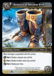 warcraft tcg scourgewar greaves of ancient evil