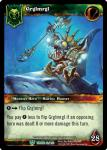 warcraft tcg foil hero cards grglmrgl