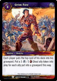 warcraft tcg battle of aspects grim fate