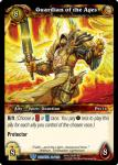 warcraft tcg betrayal of the guardian guardian of the ages