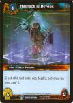 warcraft tcg throne of the tides french hadrack the devoted french