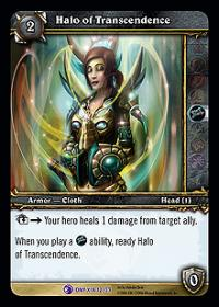 warcraft tcg onyxias lair halo of transcendence