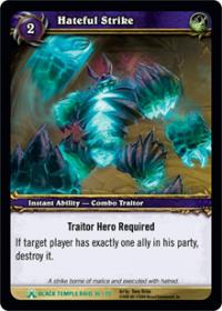 warcraft tcg black temple hateful strike