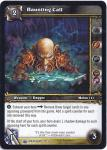 warcraft tcg wrathgate haunting call