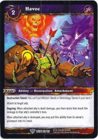 warcraft tcg reign of fire havoc