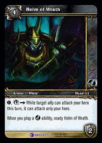 warcraft tcg onyxias lair helm of wrath