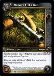 warcraft tcg march of legion hemet s elekk gun