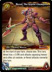 warcraft tcg dungeon deck treasure herod the scarlet champion
