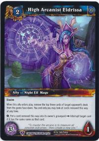 warcraft tcg caverns of time high arcanist eldrissa