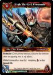 warcraft tcg dungeon deck treasure high warlord cromush