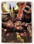 warcraft tcg deck boxes morn walks the path deck box