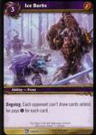 warcraft tcg fields of honor ice barbs