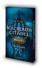 warcraft tcg warcraft sealed product icecrown citadel treasure pack