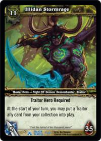 warcraft tcg black temple illidan stormrage
