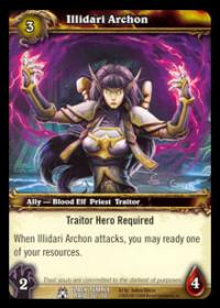 warcraft tcg black temple illidari archon