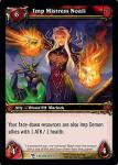 warcraft tcg march of legion imp mistress noali