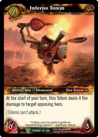 warcraft tcg twilight of the dragons inferno totem