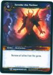 warcraft tcg class decks 2011 fall invoke the nether cd