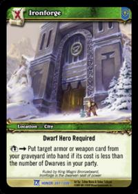warcraft tcg fields of honor ironforge