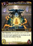 warcraft tcg march of legion ishanah high priestess of the aldor