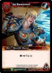warcraft tcg foil hero cards jai dawnsteel