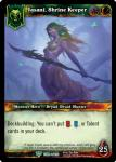 warcraft tcg foil hero cards jasani shrine keeper