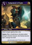 warcraft tcg march of legion judgement of light