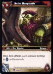warcraft tcg fields of honor kelm hargunth