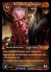 warcraft tcg reign of fire kil jaeden the deceiver
