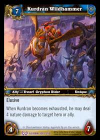 warcraft tcg the hunt for illidan kurdran wildhammer