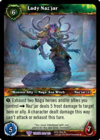 warcraft tcg throne of the tides lady naz jar