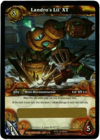 warcraft tcg loot cards landro s lil xt