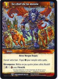warcraft tcg worldbreaker foreign leader of the pack french
