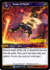 warcraft tcg war of the elements leap of faith