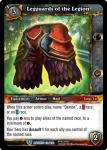 warcraft tcg war of the ancients legguards of the legion