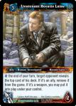 warcraft tcg dungeon deck treasure lieutenant horatio laine