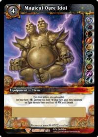 warcraft tcg loot cards magical ogre idol