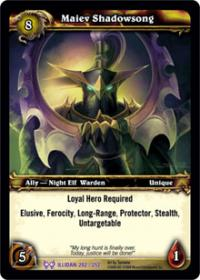 warcraft tcg the hunt for illidan maiev shadowsong