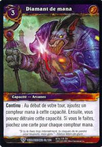 warcraft tcg worldbreaker foreign mana diamond french