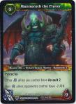 warcraft tcg caverns of time mannoroth the flayer