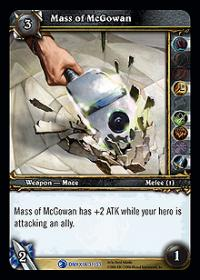 warcraft tcg onyxias lair mass of mcgowan