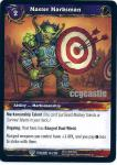 warcraft tcg twilight of the dragons master marksman