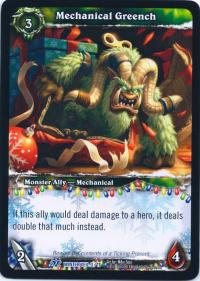 warcraft tcg feast of winter veil 12 mechanical greench