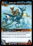 warcraft tcg throne of the tides mekkatorque king of the gnomes