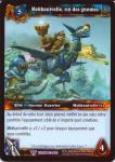 warcraft tcg throne of the tides french mekkatorque king of the gnomes french
